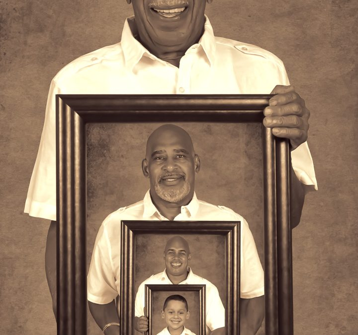The Bello Family – 4 Generations Portrait