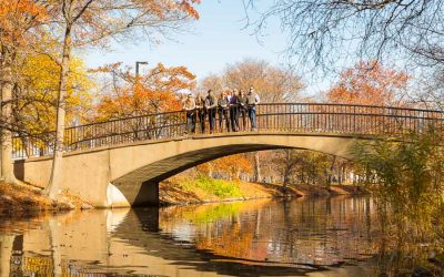 An Autumn Family Portrait Session in Boston's Back Bay