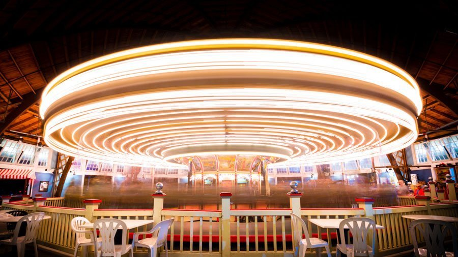 Episode 8: Behind the Scenes Long Exposure of The Paragon Carousel (Hull Massachusetts)