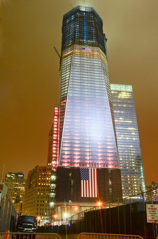 1 wtc being built