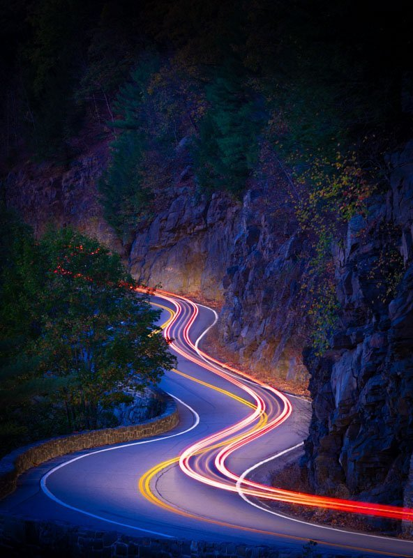 1 - professional long exposure night images hawks nest highway port jervis ny - colonphoto.com_