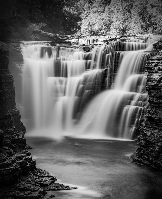 Letchworth State Park long exposure photography