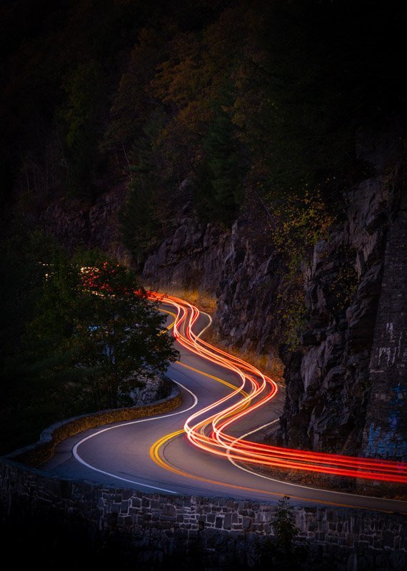 2 - professional long exposure night images hawks nest highway port jervis ny - colonphoto.com_