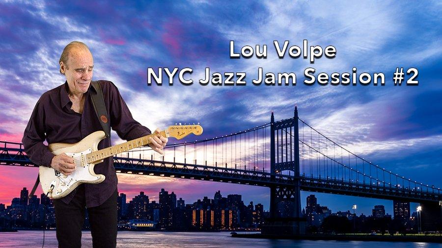 Lou Volpe Jazz Jam Session #2