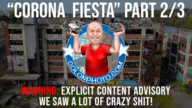 """""""Corona Fiesta"""" Part ⅔. Exploring abandoned buildings in Newark NJ."""