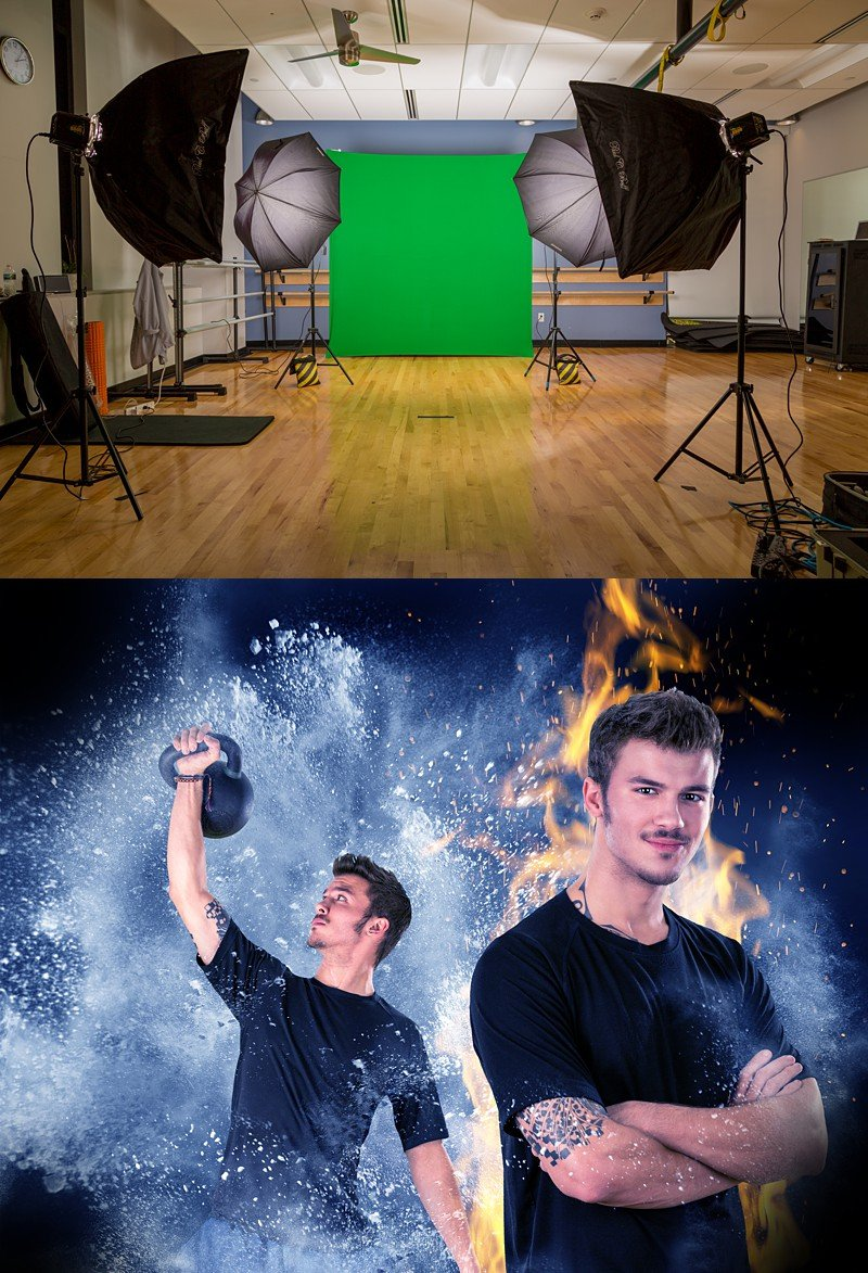 LEARN HOW TO SHOOT IN A PHOTO STUDIO
